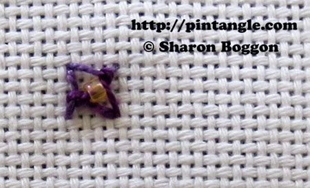 Beaded Eastern Stitch 5