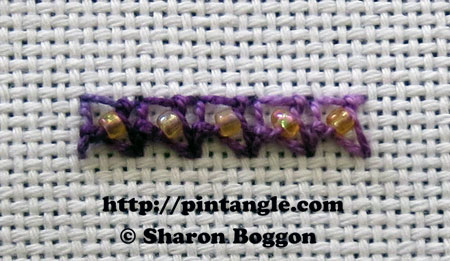 Beaded Eastern Stitch 6
