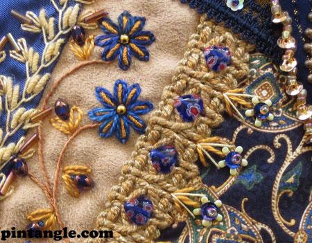 Lace Quilt Block 39 detail