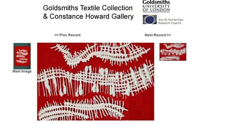 Constance Howard sampler
