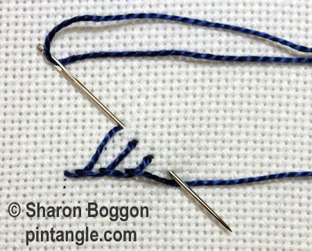 Triangular buttonhole 4