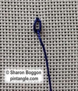 Long Tail Chain stitch 2