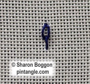 Long Tail Chain stitch