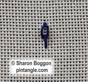Long Tail Chain stitch