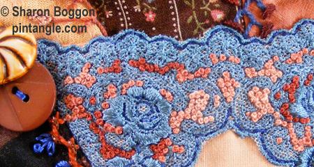 Crazy quilt detail 506