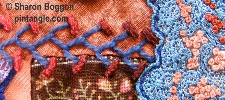 Crazy quilt detail 507