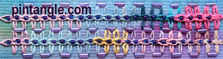freeform needlework sampler 681