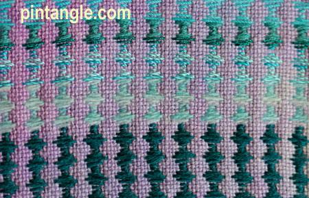 Freeform Hand Embroidery Sampler detail 688