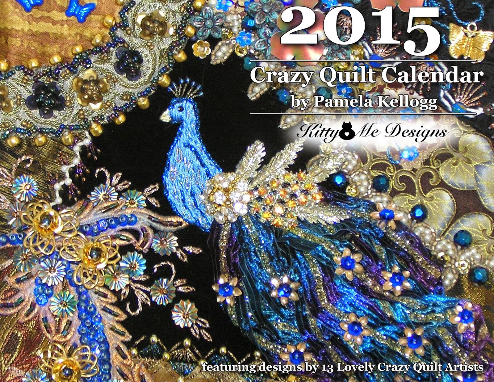 2015 Crazy Quilting Calendar