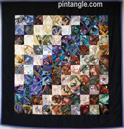 I dropped button box quilt