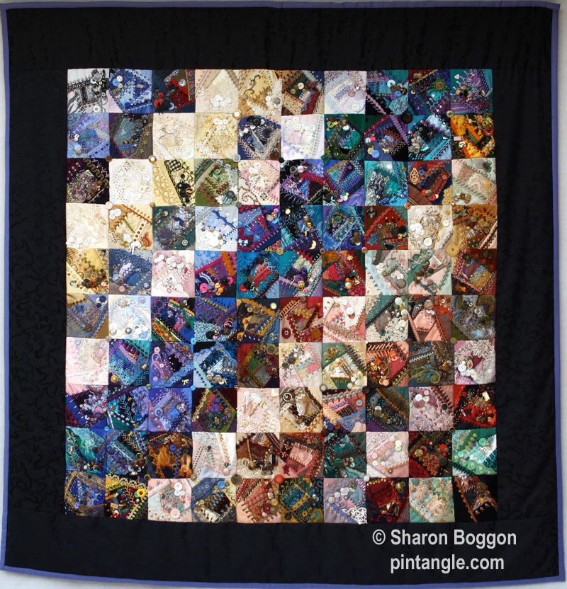 I dropped button box quilt quilt
