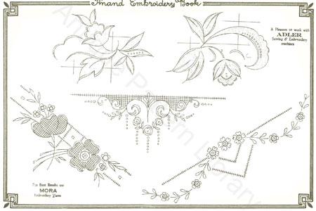 Free book of Embroidery patterns