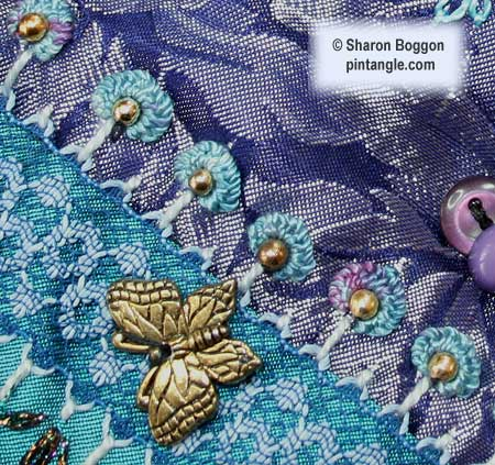 crazy quilt seam detail