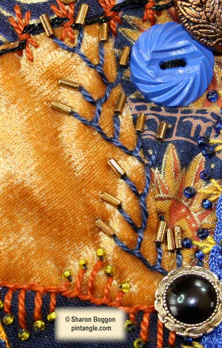 Crazy quilt detail 541