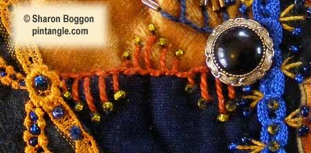 Crazy quilt detail 542