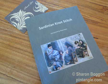 Sardinian knot stitch book