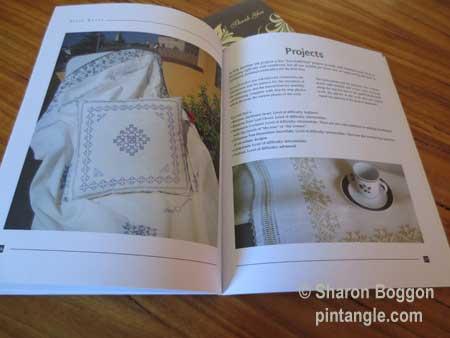 Sardinian knot stitch projects