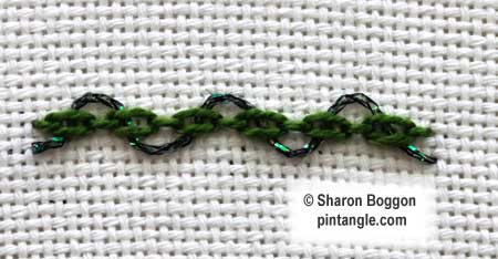 Threaded Cable Chain step 3