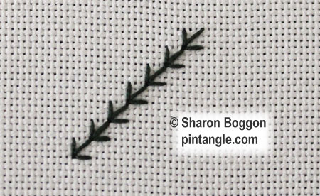 fern stitch step 4