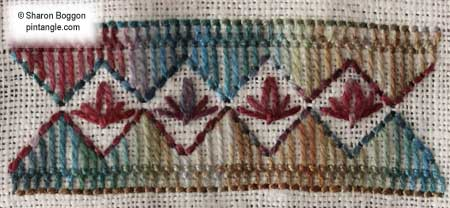 Freeform Hand Embroidery Sampler detail 692