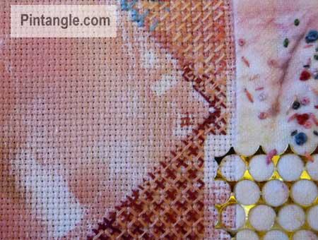 sample of contemporary cross stitch