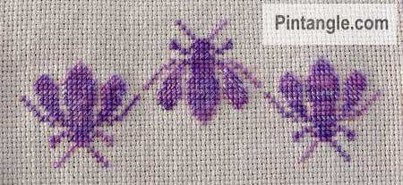 cross stitch sample 1
