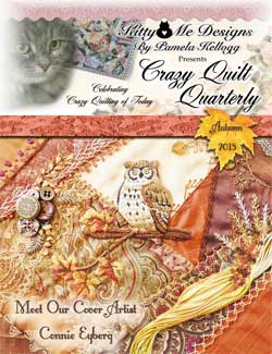 Fall issue of Crazy Quilt Quarterly