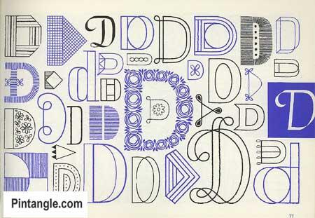 Lettering for Stitchers design ideas 4