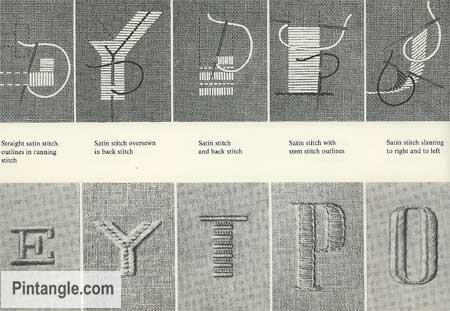 Lettering for Stitchers hand embroidery ideas 3