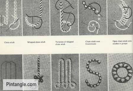 Lettering for Stitchers hand embroidery ideas 2