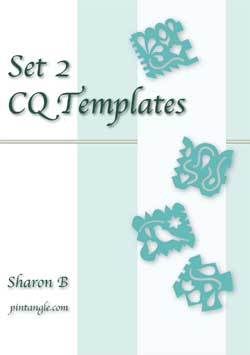 Crazy Quilt Templates set 2 ebook
