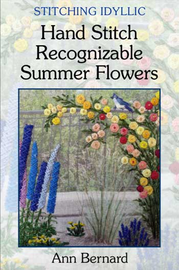 Review: Stitching Idyllic: Hand Stitch Recognizable Summer Flowers