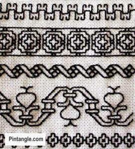 history of embroidery samplers