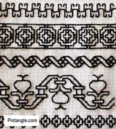 A Brief History of Embroidery Samplers