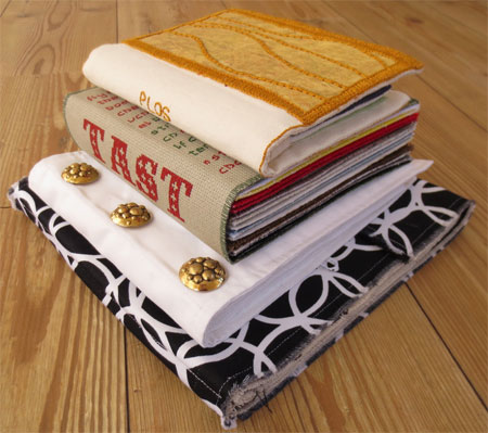 TAST interview image 2 fabric books