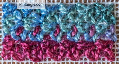 Bouclé Stitch Sample 2