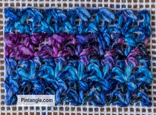 Bouclé Stitch Sample1
