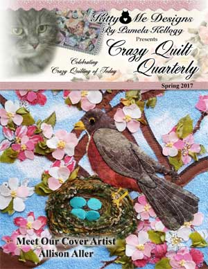 The Crazy Quilt Quarterly Spring Issue cover