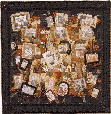 Image of Quilt for TAST Interview with Gerry Krueger of Older Rose