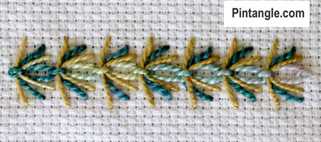 Slipped Cable Chain sample 3