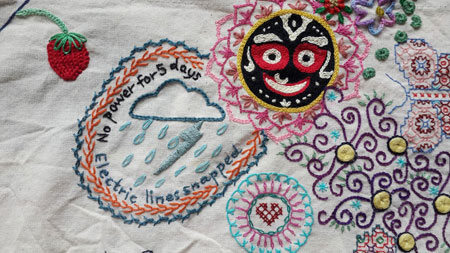 Image for Interview with Maya Mathew of Million Little Stitches 2