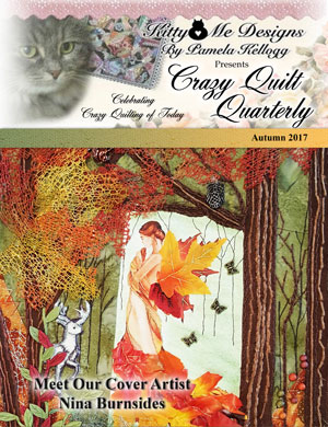 The Autumn issue of Crazy Quilt Quarterly is out