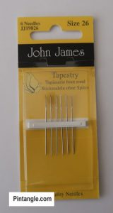 hand embroidery supplies tapestry needles