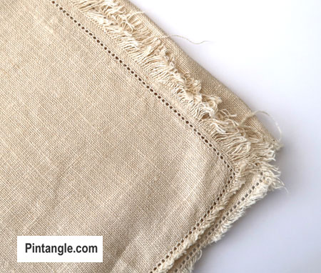 hand embroidery supplies vintage table cloth