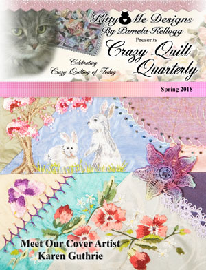 Crazy Quilt Quarterly Spring 2018 cover