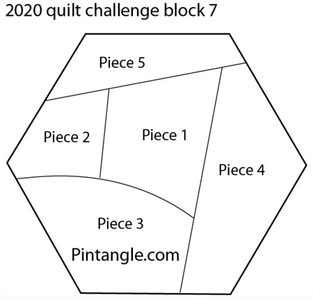 2020 crazy quilt block 7 pattern