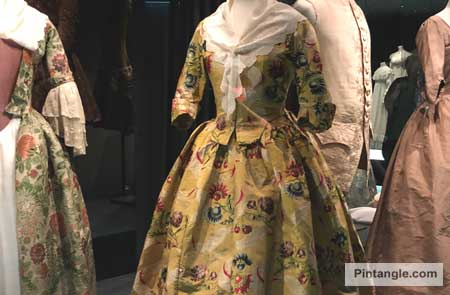 Dresses in the Bath Fashion Museum