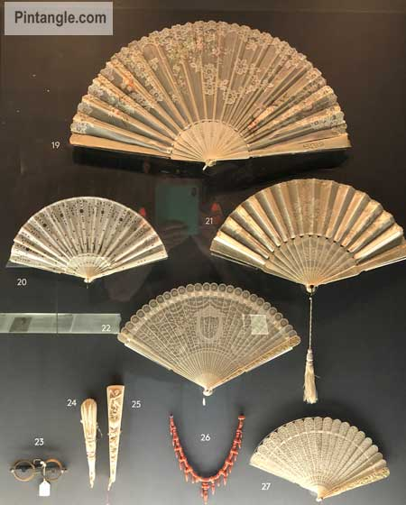 Fans in the Bath Fashion Museum