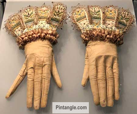 Gloves in the Bath Fashion Museum