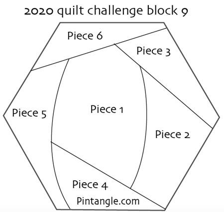 2020 challenge Block 9 pattern
